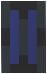 [untitled] (w/title & justif; set of 10) by ad reinhardt